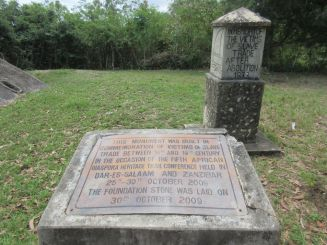 at Mangapwani slave chamber